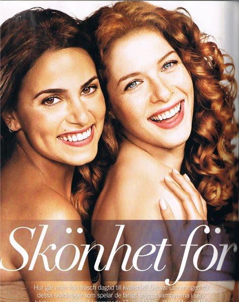 The girls of Twilight, swedish Glamour magazine | Gossip_Dance