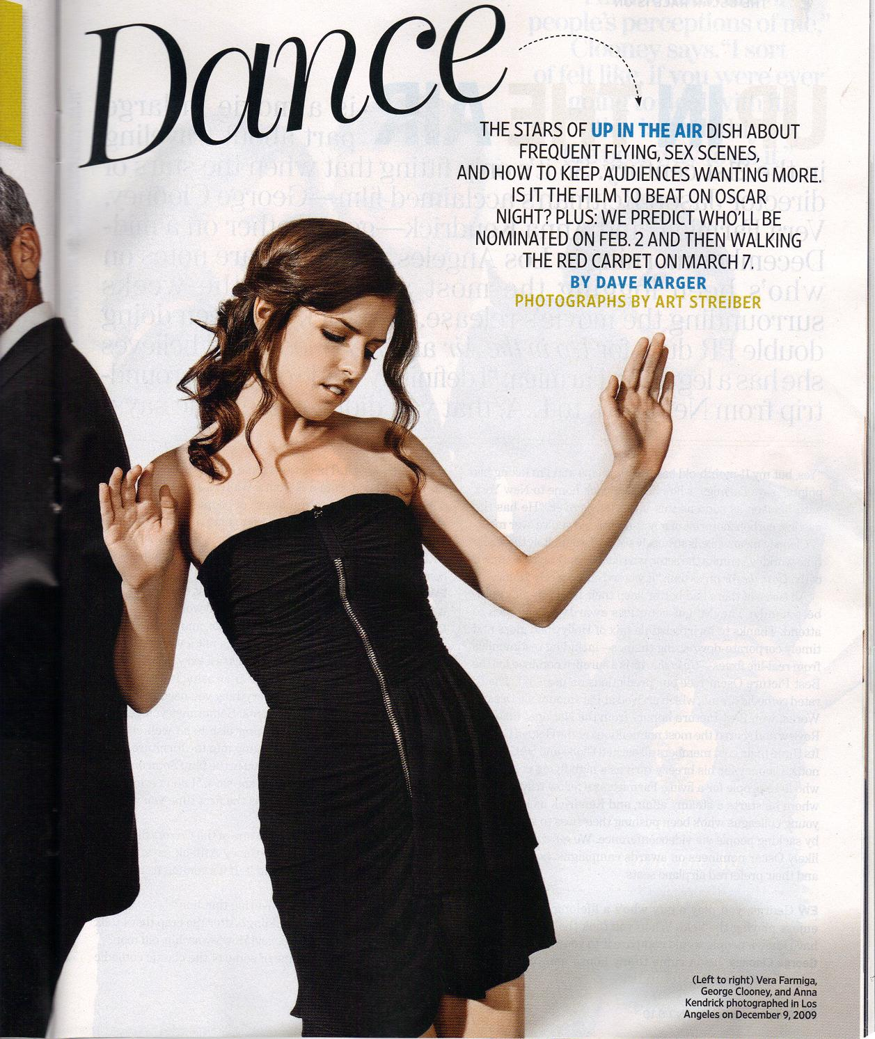 Anna Kendrick On Entertainment Weekly Scans